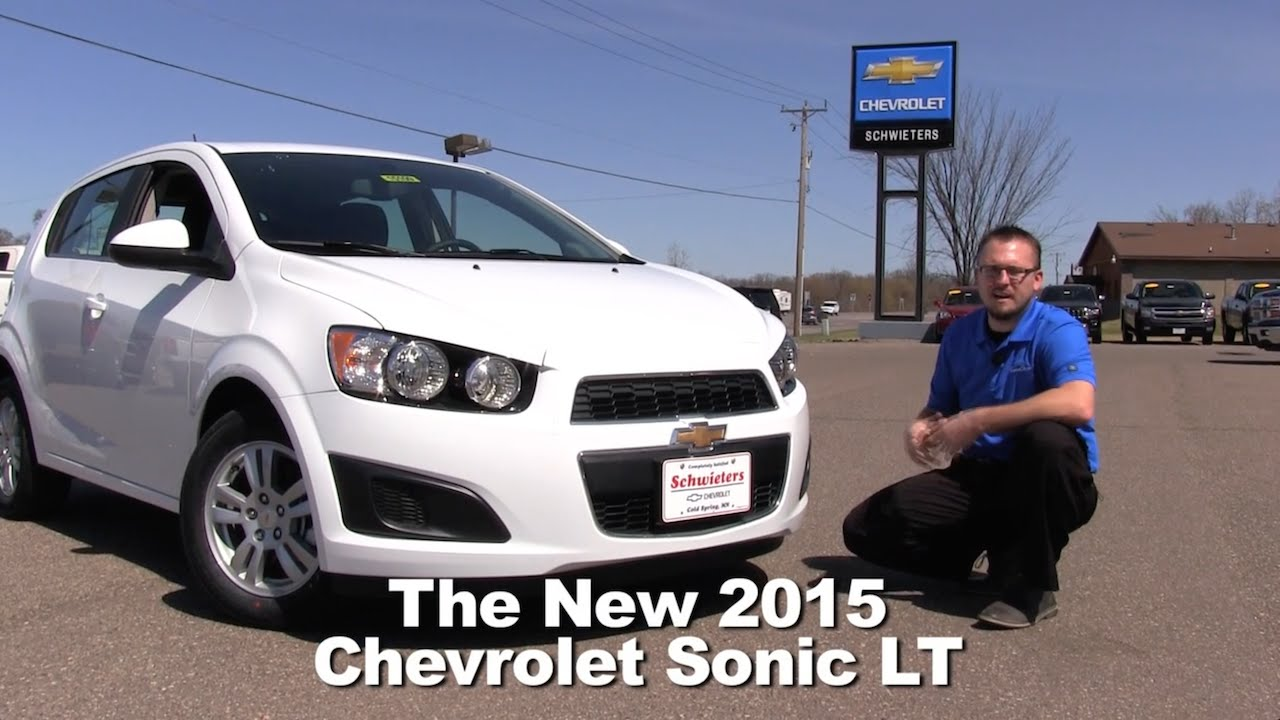 review: the new 2015 chevrolet sonic lt minneapolis, st cloud