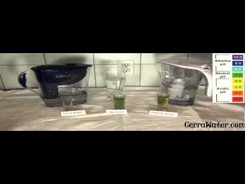 How Cerra Water Is Different Then A Regulat Brita Filter