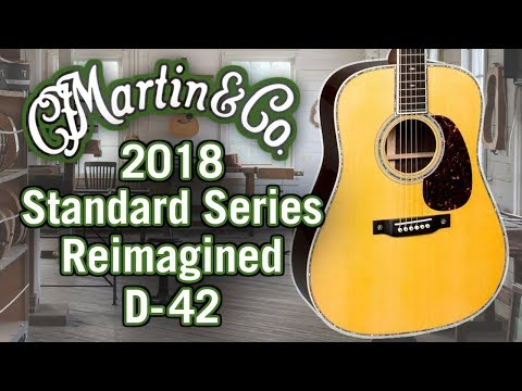 Martin 2018 D-42 Review & Demo