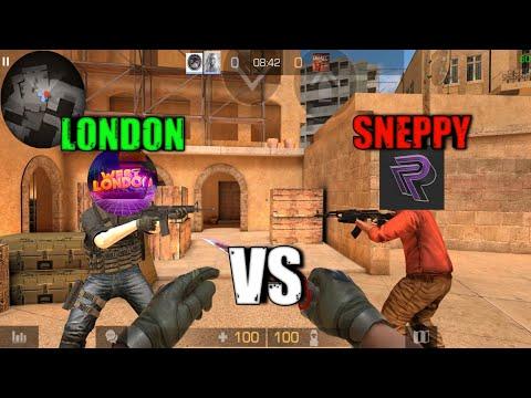 SNEPPY против LONDON и МАМОНТ в СТАНДОФФ 2 / STANDOFF 2