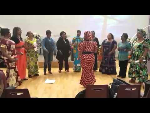 Chorale dès maman église bom Dieu à Mulhouse