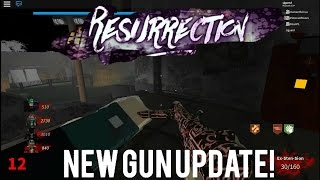 Resurection:New guns Update(Roblox resurection)