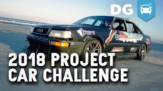 Quad Turbo Ls-Swapped Audi Quattro Race Car - Does The 2018 Project Car Challenge