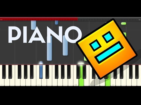 Geometry Dash Back On Track Piano Tutorial Easy Level Midi
