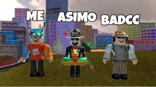 PLAYING WITH ASIMO & BADCC!!!! - ROBLOX