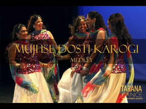 Mujhse Dosti Karogi Medly    Tarana Dance