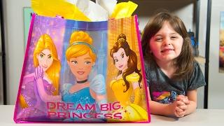 HUGE Disney Princess Surprise Present Blind Bags My Little Pony Toys for Girls Kinder Playtime