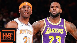 Los Angeles Lakers vs New York Knicks Full Game Highlights   March 17, 2018-19 NBA Season