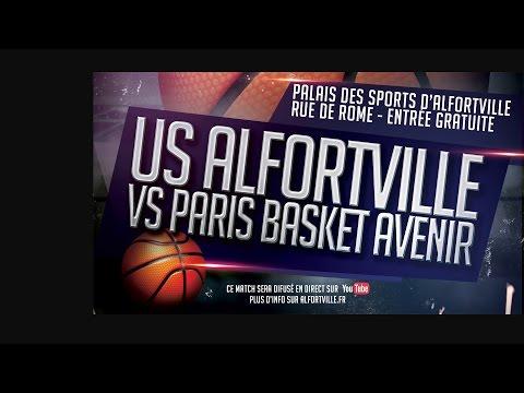 Basketball - Match de championnat - Alfortville vs Paris Basket Avenir - Nationale Masculine 3