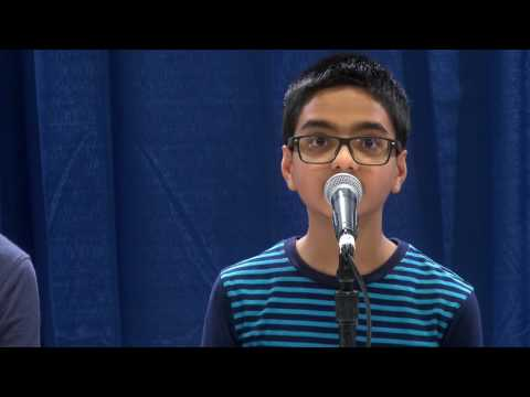 2017 Indiana Geographic Bee