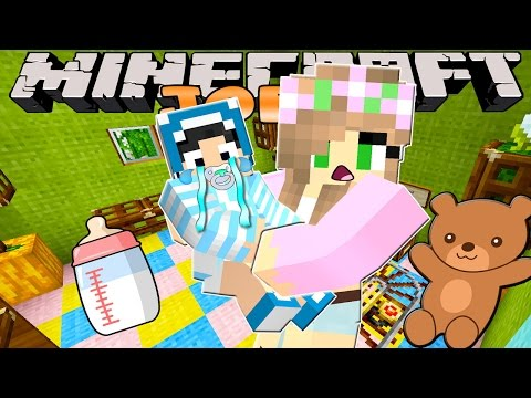 Minecraft-Little Kelly Adventures- BABYSITTING FOR THE FIRST TIME!