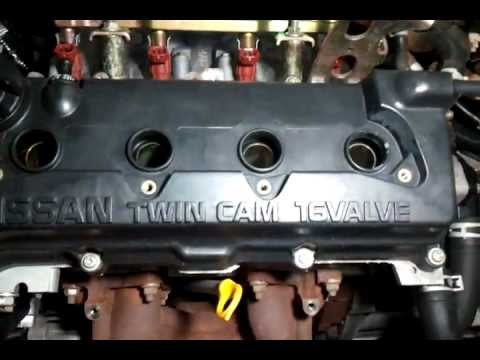 Nissan Sunny Motor Qg15 De Mp4 Youtube