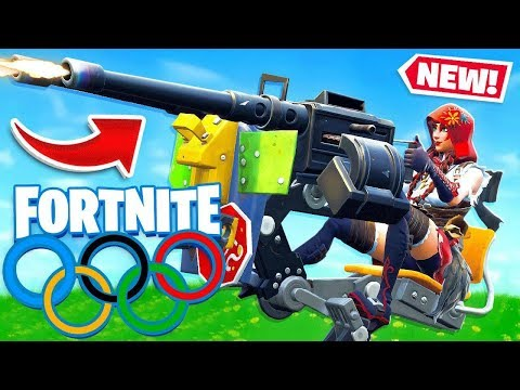 IT'S THE TURRET OLYMPICS! *NEW* Game Mode in Fortnite