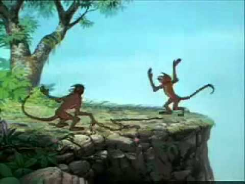 The Jungle Book   Mowgli Gets Caught By Monkeys English