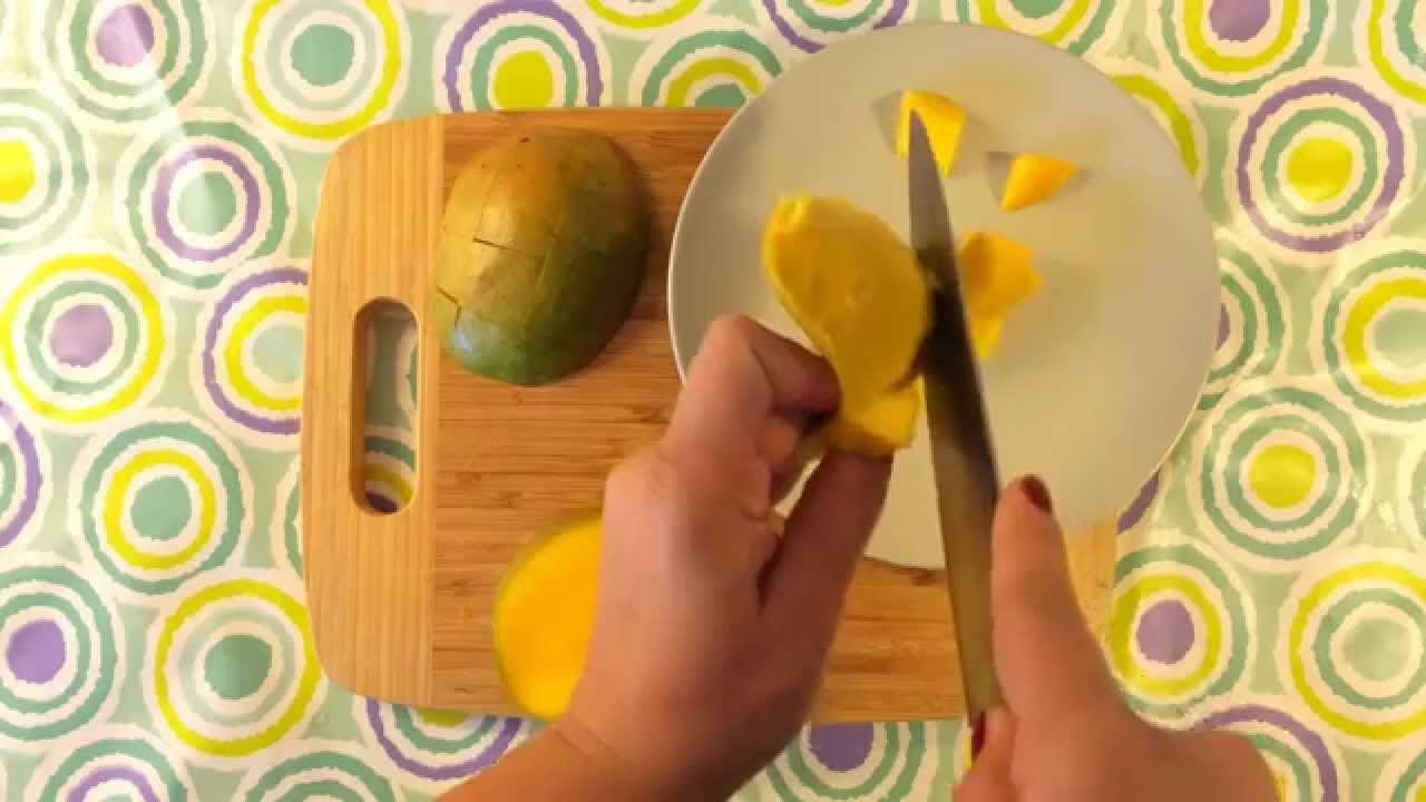 Life Hack  The Easy Way To Cut Mango