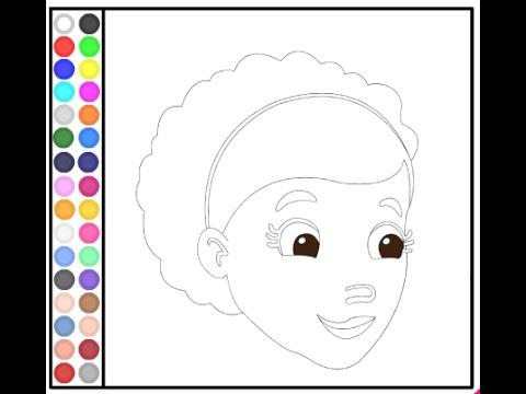 Doc McStuffins Coloring Pages Parents