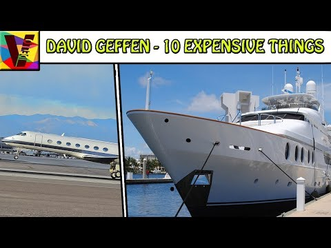 10 Expensive Things Owned By Billionaire David Geffen