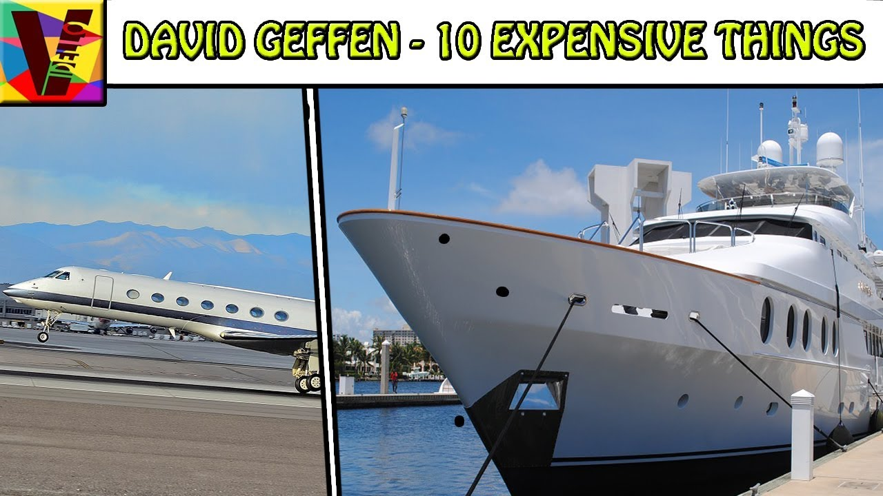 10 Expensive Things Owned By Media Mogul David Geffen