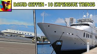 Billionaire David Geffen And 10 Expensive Things He Owns