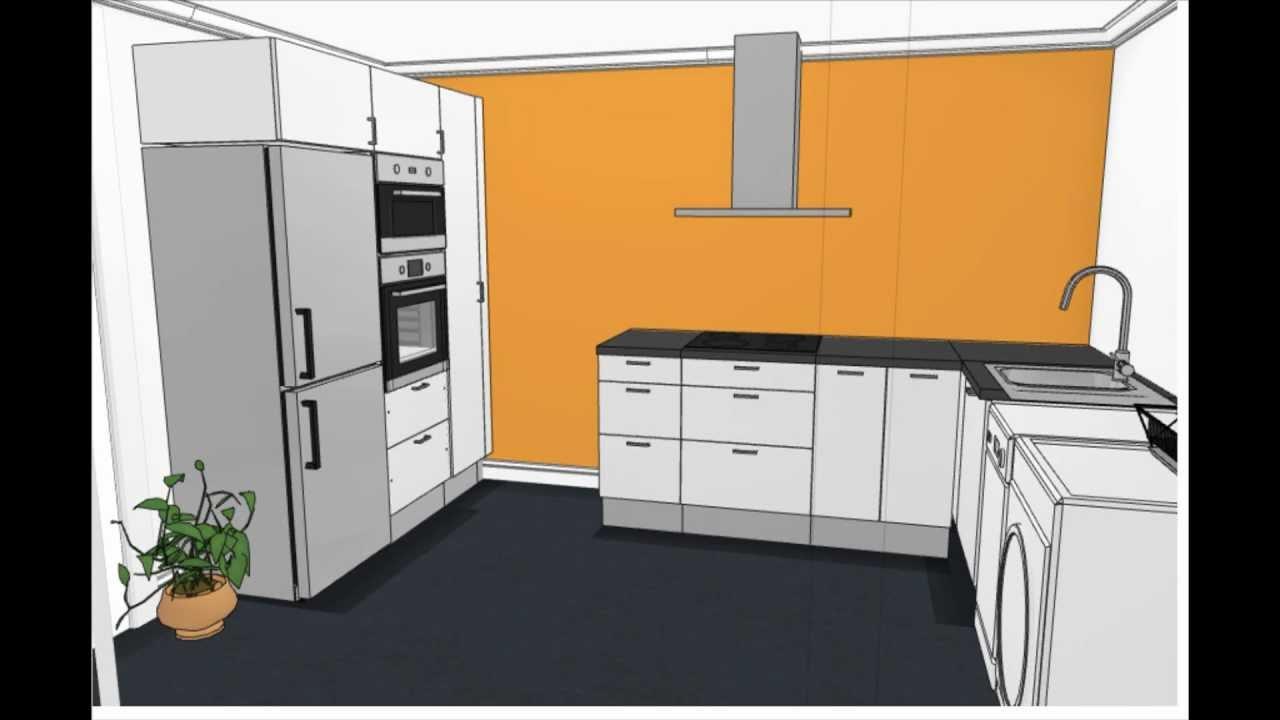 Reformas cocinas en valencia dosidos cb reforma cocina for Planos de cocina en 3d