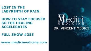 Lost in the Labyrinth of Pain: How to Stay Focused So the Healing Accelerates, Show #355