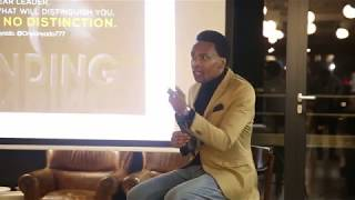 Onyi Anyado | Global  Leadership Speaker | Futurist | speaking at a Fiverr event PART 2