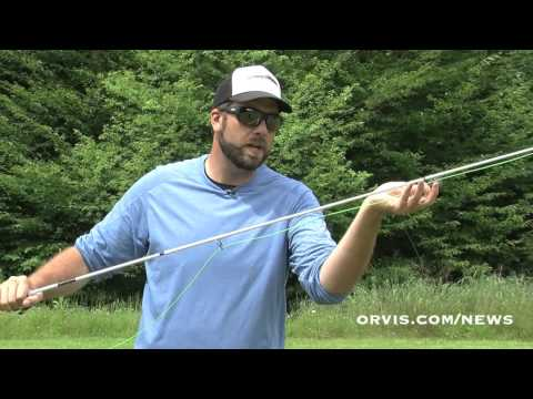 ORVIS - Fly Fishing Lessons - Rigging The Rod To Move To A New Spot