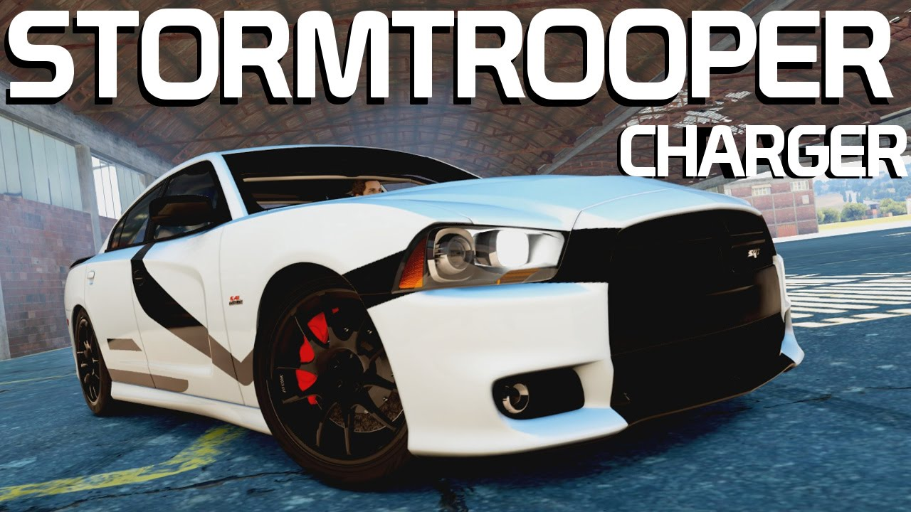 stormtrooper dodge charger build forza horizon 2 youtube
