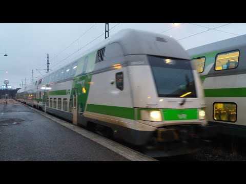 IC 948 Turku-Helsinki arrives to Helsinki central station