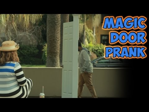 Magic Door Prank video