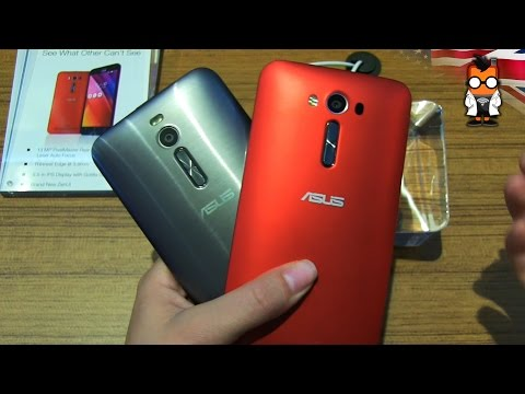 ASUS Zenfone 2 with Qualcomm vs Zenfone 2 with Intel - Hands On & Comparison