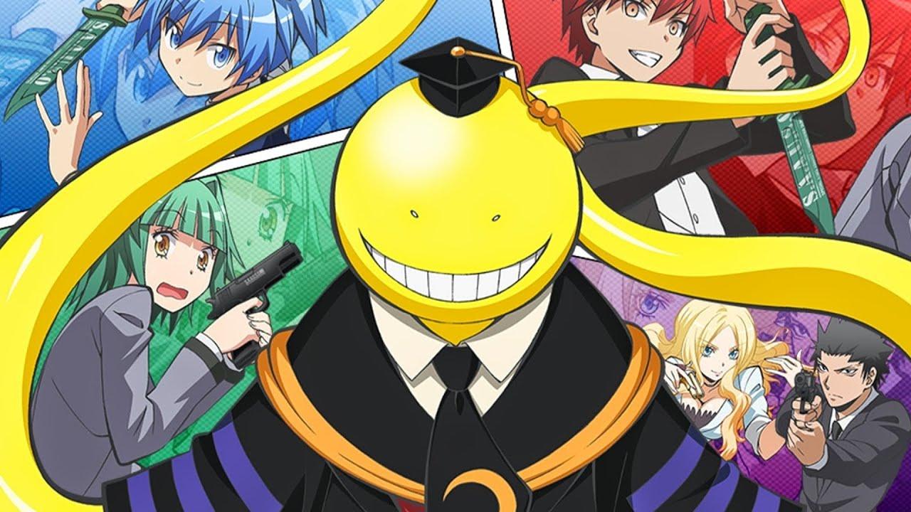 картинки класс убийц аниме