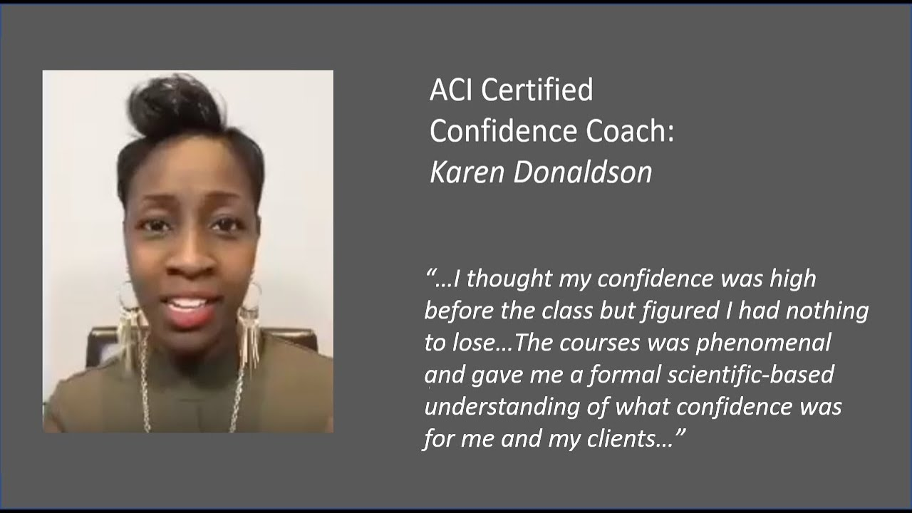 Coaching Certification | American Confidence Institute