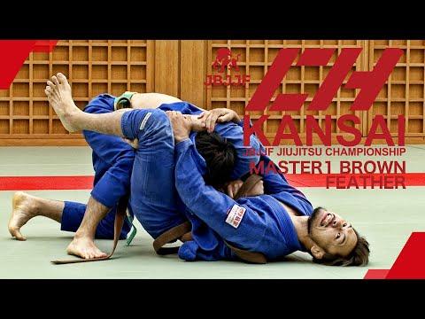 【JBJJF関西柔術選手権2021】マスター1茶帯フェザー級