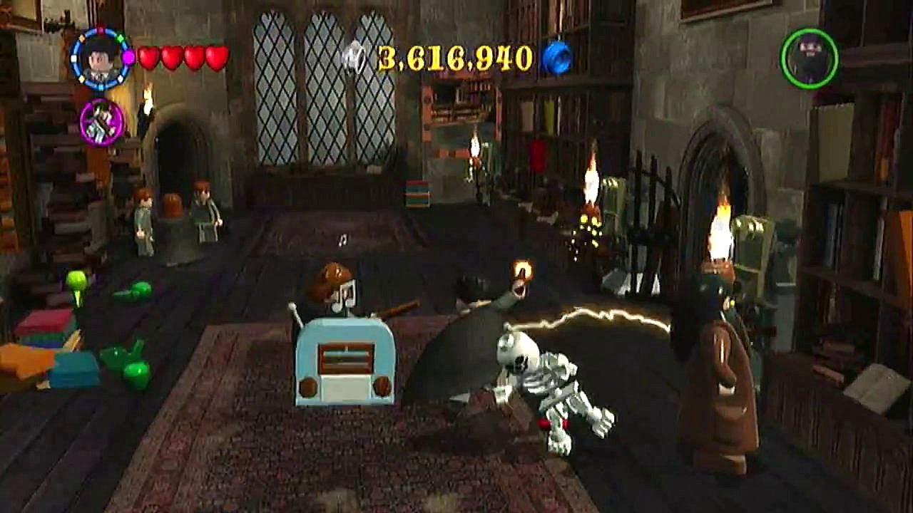 Lego Harry Potter Years 1 4 Walkthrough Library Youtube