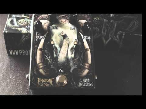 Pro Tone Pedals Bass Overdrive Teaser