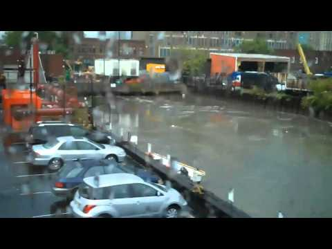 9/16/2010:  Storm floods Gowanus Canal with Raw Sewage