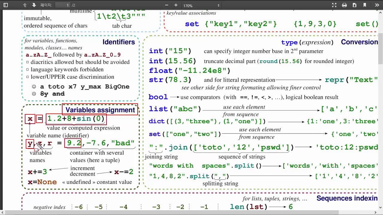 Python & Ruby