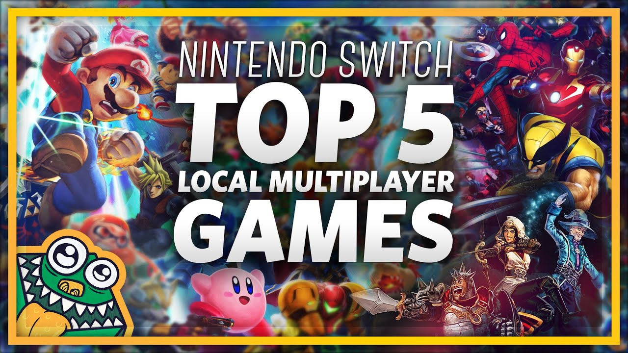 Check Out the Best Multiplayer Switch Games