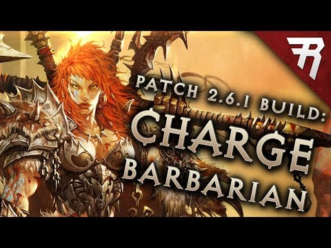 Diablo 3 2.6.1 Barbarian Build: CHARGE! GR 115+ and Speed (Guide, Season 12 PTR)