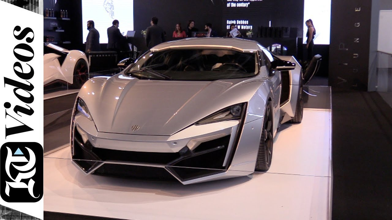 Five Of The Most Expensive Cars At Dubai International Motor Show