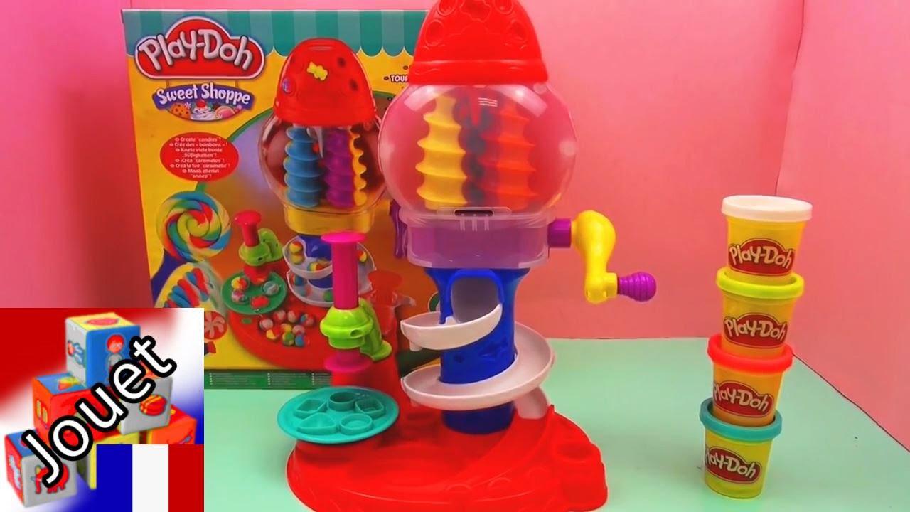 play doh candy cyclone fabrique de bonbons en p te modeler avec une machine bonbon youtube. Black Bedroom Furniture Sets. Home Design Ideas
