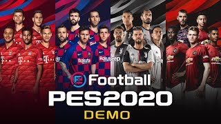 eFootball PES 2020 Demo Trailer