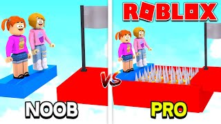 Roblox   Noobs Vs Pro Obby!