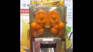 디오렌지 오렌지 자동 착즙기 소개 및 행사 참가