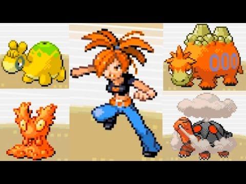Pokémon Emerald: FLANNERY GYM Boss Fight! (TORKOAL, Heat Badge)