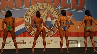Выступления и награждения в категории фитнес-бикини на Арнольд Классик Европа 2014