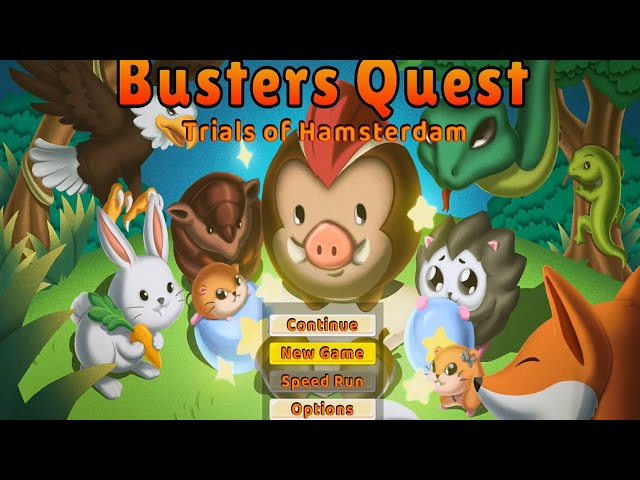 Buster's Quest - Trails of Hamsterdam I Gameplay I Puzzle I PS5 (Thanks Indie Remix Studios)
