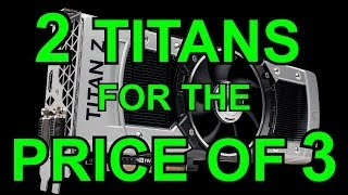 nvidia and amd 2014 graphics cards titan z and r9 295 x2 titanfall gameplay commentary