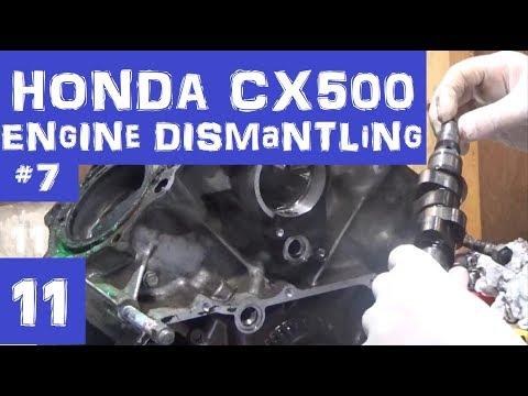 Honda CX500 Cafe Racer - Engine Dismantling 7 - Episode 11